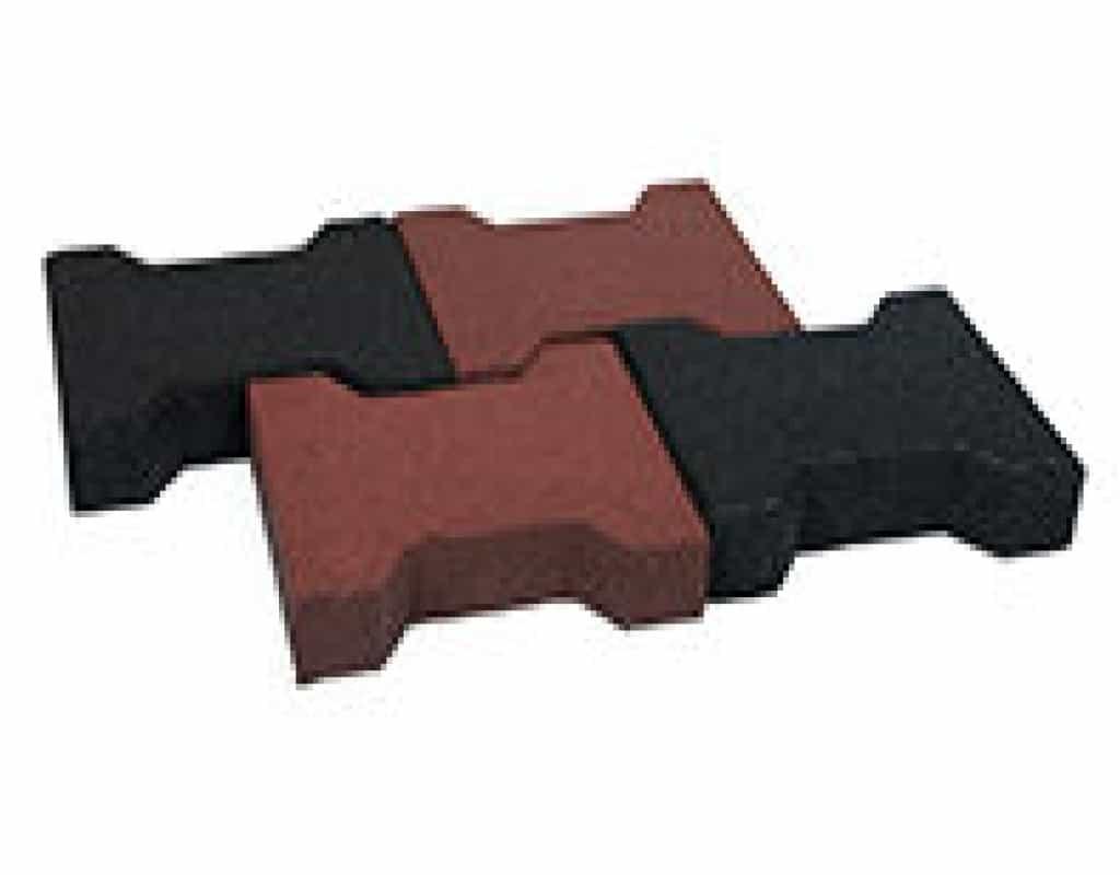 h-formet gummifliser