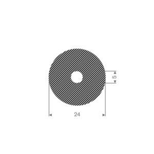 Celle rundprofil (Ø24/Ø5)